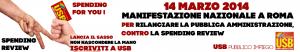 Banner 14 Marzo e Campagna adesioni