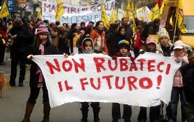 NON RUBATECI IL FUTURO