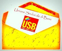 una lettera USB